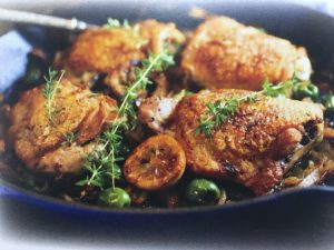 Chicken Legs with Olives
